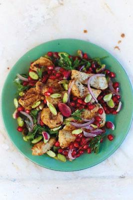 DK Kochbuch ISTANBUL, Schwertfisch-Salat