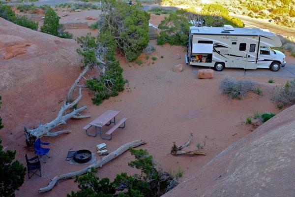 Devils Garden Campground, Arches National Park