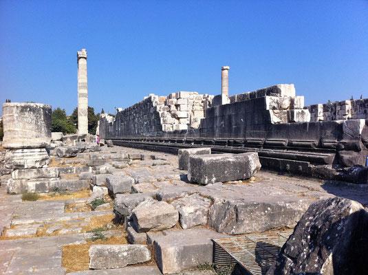 Tempelanlage von Didyma, Türkei Lykische Küste in Didim