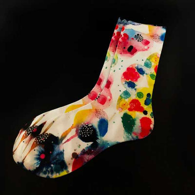 Chihuly Socks Souvenir