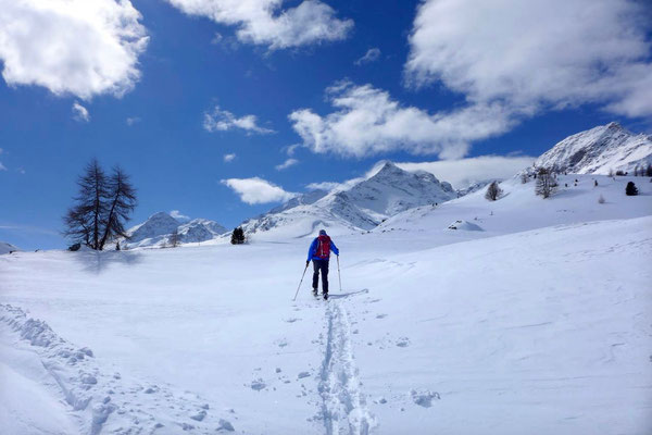 Skitour im Schweizer Engadin / Diavolezza