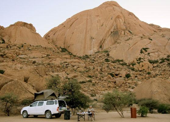 Campsite 10C Spitzkoppe, Namibia