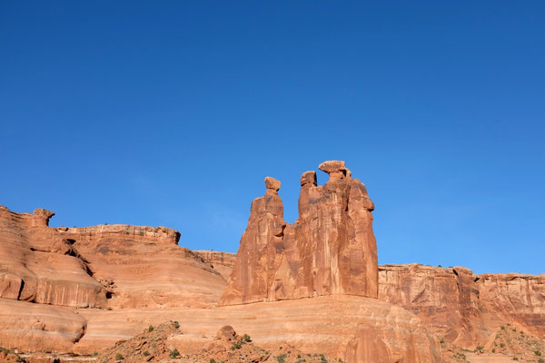 Three Gossips, Scenic Road Arches National Park USA Südwesten