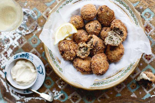 Thunfischbällchen ein Cichetti Klassiker / Die Küche Venedigs