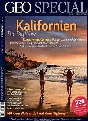 Geo Special Kalifornien Heft