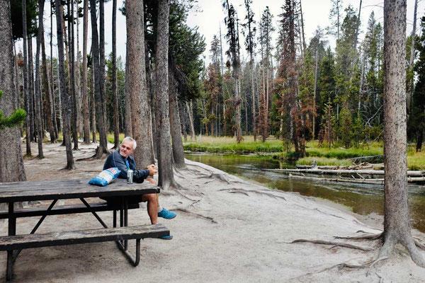 Schöner Picknickplatz Gibbon Meadows