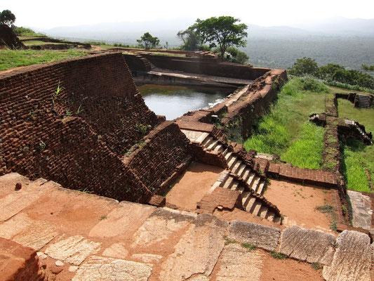 Sigiriya Castle auf dem Plateau Sri Lanka