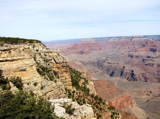 South Rim Trail Grand Canyon Wanderweg