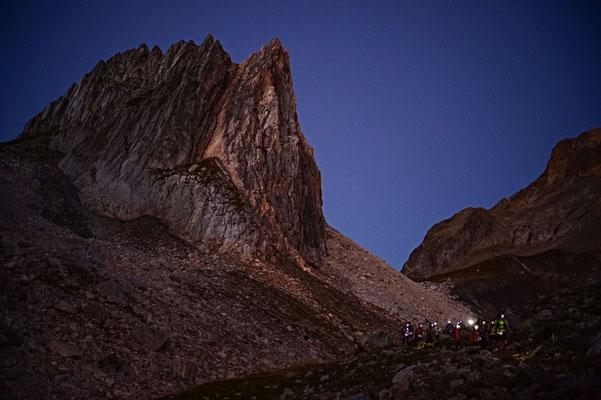 Durch die Nacht kommen mit  Power-Napping © Ultra-Trail du Mont-Blanc® - Photo Franck Oddoux