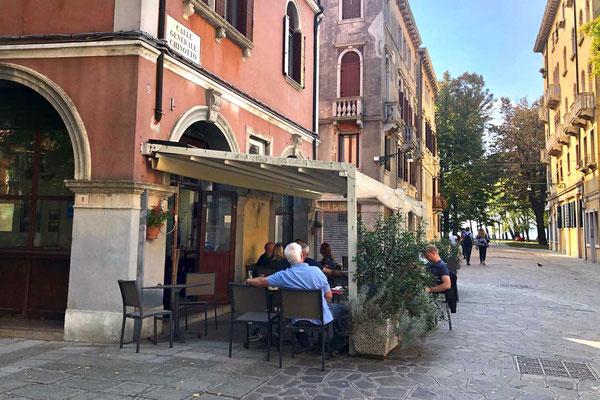 Venedig Restaurant in Castello nahe Biennale