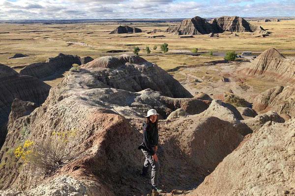 Der Saddle Pass Aufstieg Badlands Wander-Tipp
