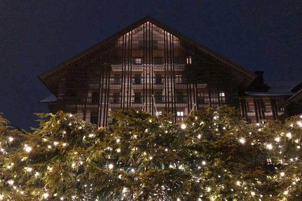 Luxusherberge im Chalet-Stil The Chedi Andermatt