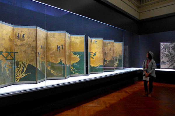 Tokyo National Museum, Goldene Paravents