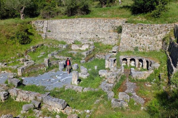 Das Antike Gortys, Tor zur Lousios-Schlucht