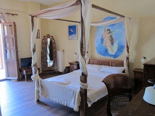 Hübsche Zimmer 'Akrotiri Rooms' in Porto Kagio