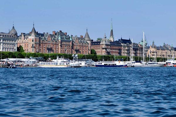Stockholm am Meer Stadtpromenade