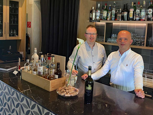 Das Restaurant Team, Denis Peteani (rechts)