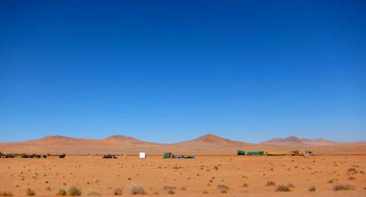 Ausbau Eisenbahnstrecke von Aus nach Lüderitz, Namibia