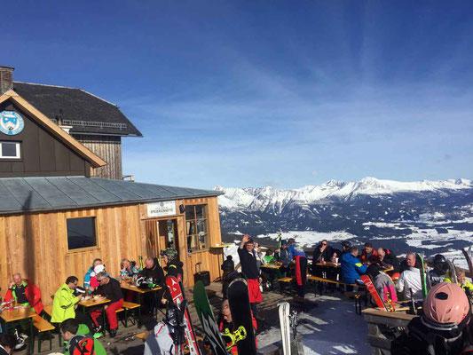 Toller Ausblick aufs Lungau von der Speiereck-Hütte