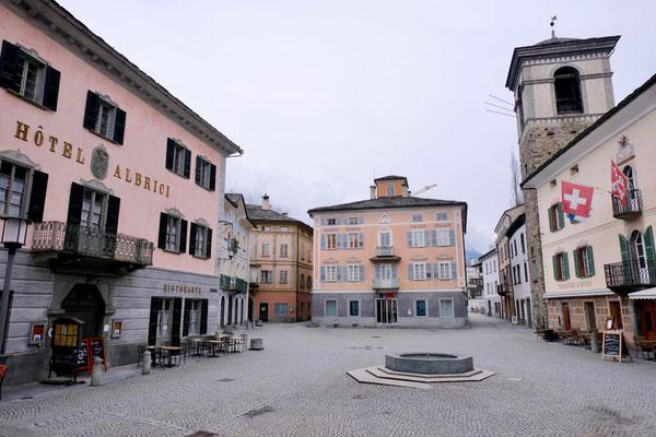 Piazza von Poschiavo