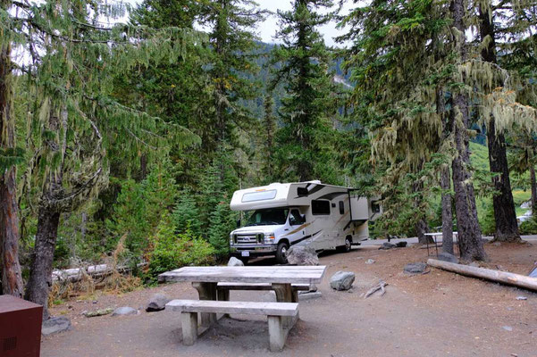 White River Campground - Mount Rainier National Park