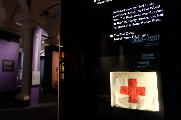 Nobelpreis fürs Rote Kreuz, Nobelpreismuseum Stockholm