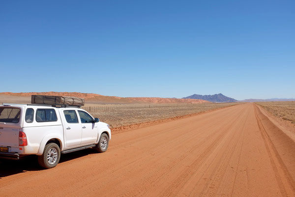 Toyota Hilux double cab camper Namibia Tour