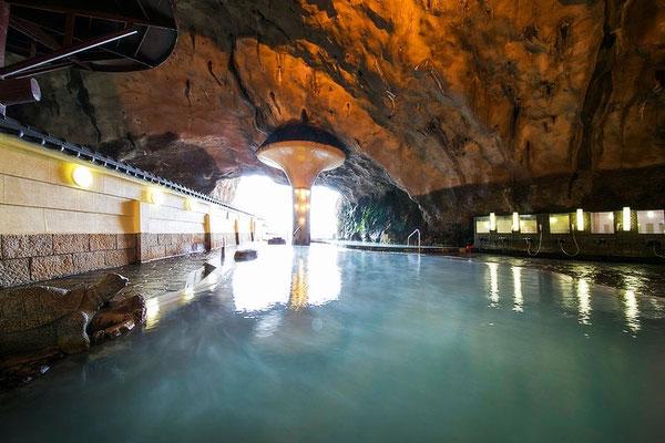 Höhlen Onsen Hotel Urashima Katsuura
