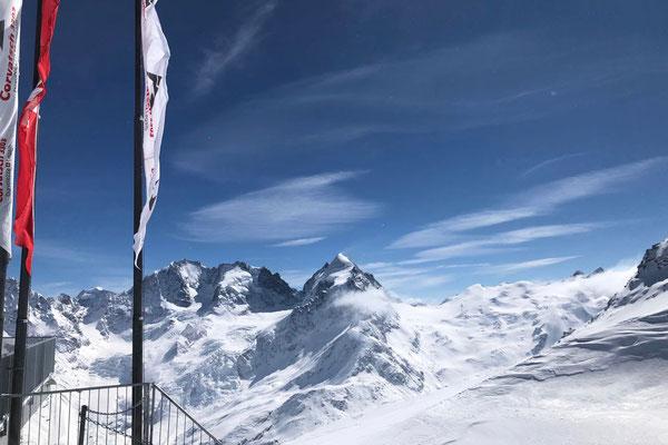 Corvatsch Bergpanorama