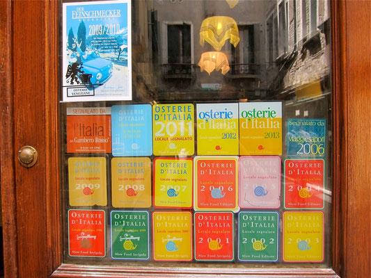 AL'ARCO Venice Slow Food cichetti bar