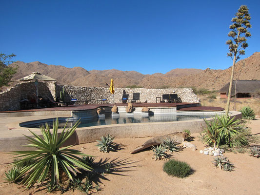 Pool Solitaire Guest Farm, Namibia