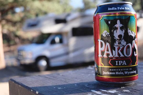 Zum Grillen Craft Beer aus Jackson Hole