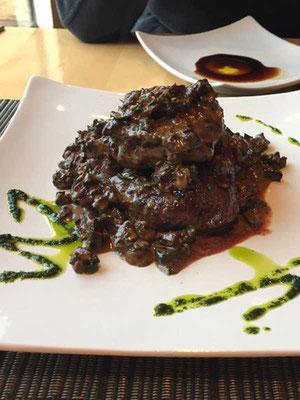 Filet Mignon, Afrigonia Restaurant Puerto Natales