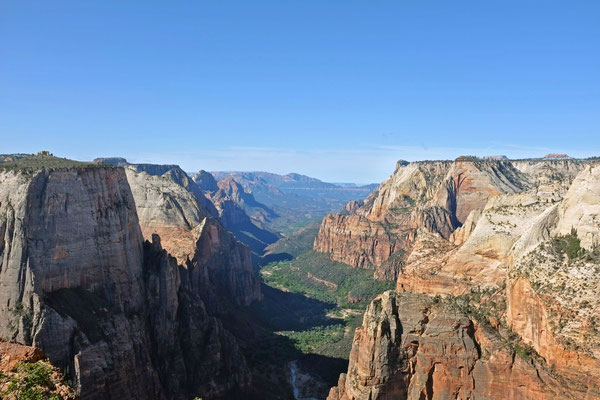Ausblick Observation Point Trail, Zion NP