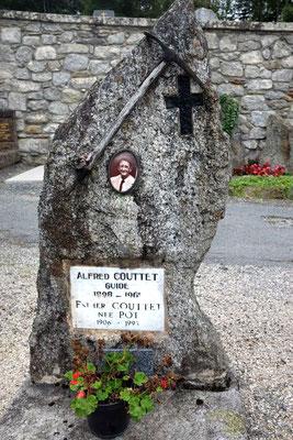 Bergsteiger Friedhof von Chamonix