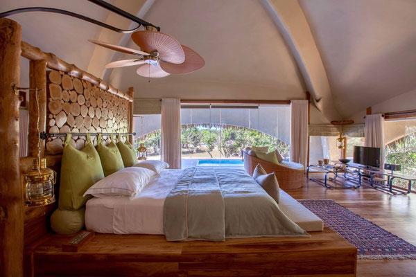 Room Chena Huts Safari Lodge Yala Nationalpark Sri Lanka