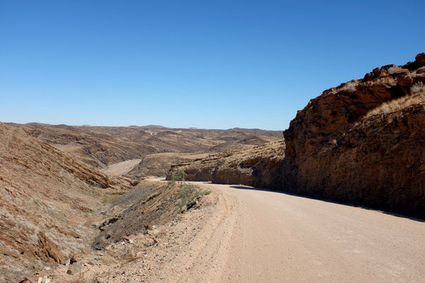 Durch den Kuiseb-Canyon, Namibia