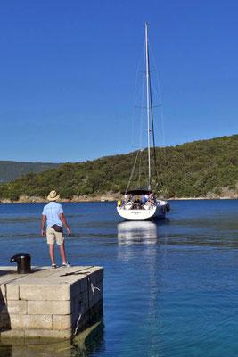 Seglerhafen Valun Insel Cres