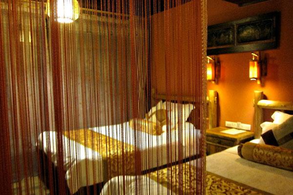 Yangshuo Tea Cozy Hotel mit großen zwei Betten