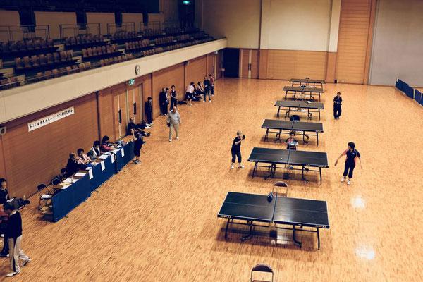 Senioren Tischtennis Tournier Budo Sportzentrum Kyoto