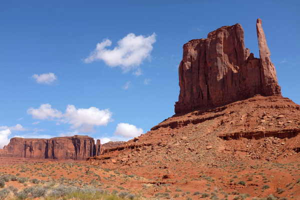 Wildcat Trail, West Mitten Butte, Monument Valley Wanderung