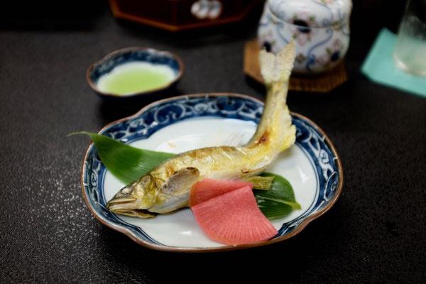 Kaiseki Mahl auf dem Kumano Kodo