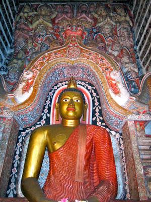 Lankatilaka Tempel bei Kandy