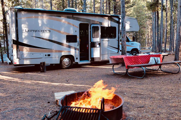 Stellplatz Canyon Campground Yellowstone