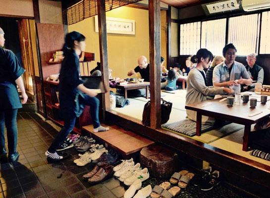 Kyoto Restaurant Tipp Nähe Silberner Pavillon Omen Ramenlokal