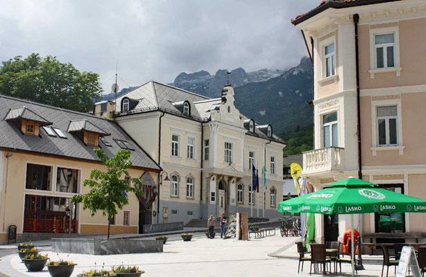Bovec Altstadt