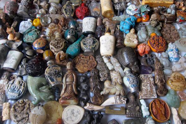 Eine Fundgrube, die kleinen Antikläden in Xizhou