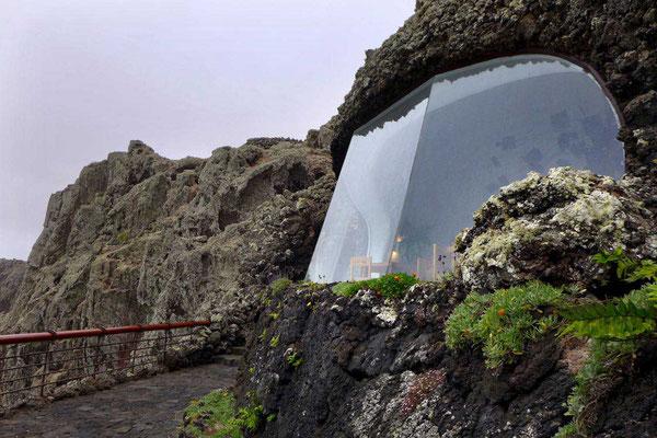 In den Vulkan gebaut, Mirador del Río Lanzarote