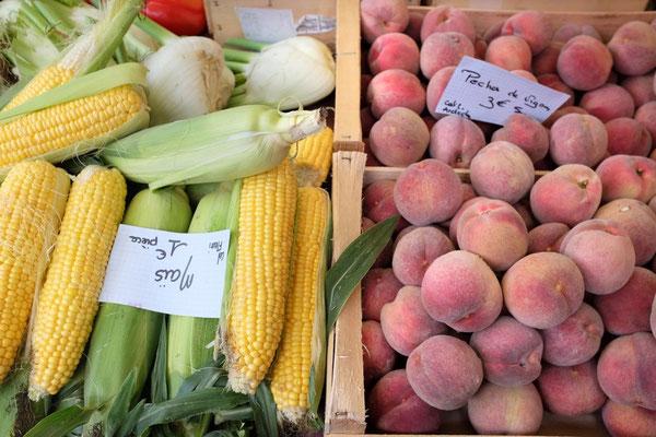 Großer Samstagmarkt in Chamonix
