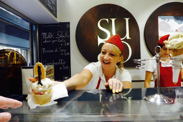 SUSO Gelatoteca mein Eis-Favorit in Venedig